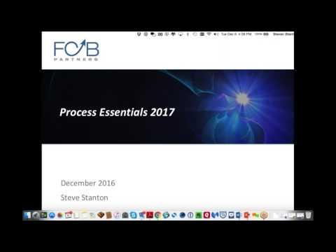 Process Essentials for 2017