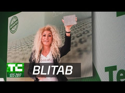 BLITAB: A Tablet for the Blind at CES 2017