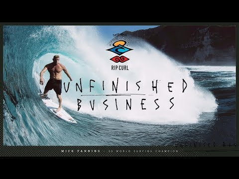 Rip Curl's The Search featuring Mick Fanning | Unfinished Business