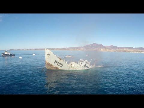 GoPro Awards: Sinking a Mexican Navy Battleship