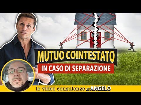 MUTUO COINTESTATO: che succede in caso di separazione | Avv. Angelo Greco