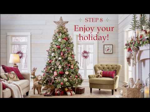 Pier 1 Imports: One Beautiful Christmas Tree in 8 Easy Steps