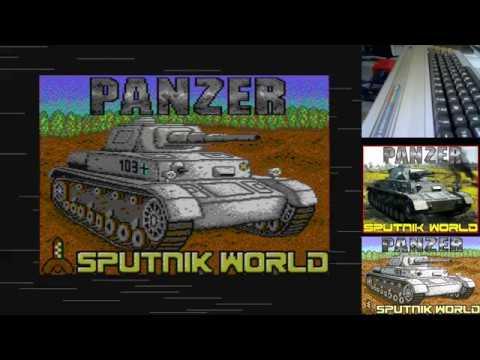 Jugando a Panzer en Commodore 64