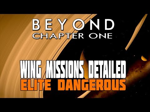 Elite Dangerous Beyond:  Wing Missions Detailed - Plus New Crime and Punishment in Action