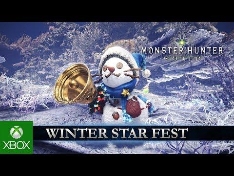 Monster Hunter: World - Winter Star Fest