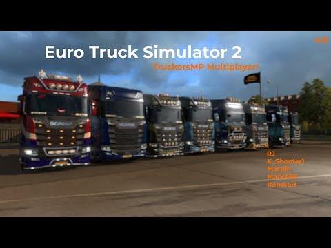Euro Truck Simulator 2  TruckersMP  Part 45 Livestream 09122017