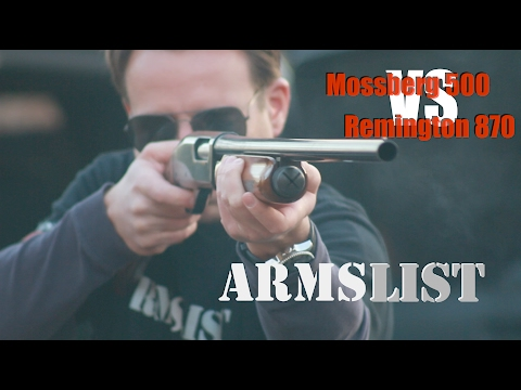 Mossberg 500 vs Remington 870:  Does it matter?