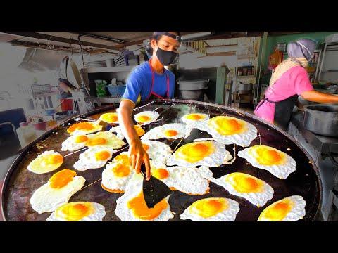Street Food in Malaysia – The EGG FRY NINJA + HUGE Street Food Tour of Melaka, Malaysia!!!