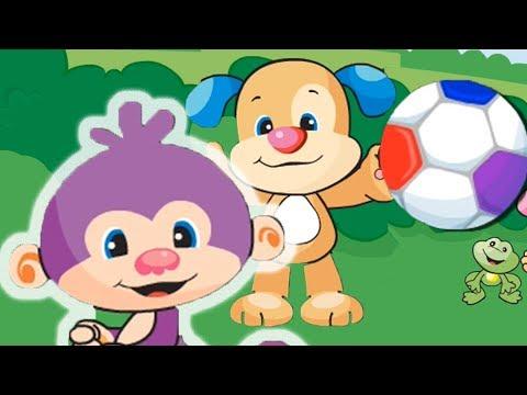 Lernspaß | Fußball-Aktion! | Fisher-Price Deutsch | Kinderlieder | Cartoons für Kinder