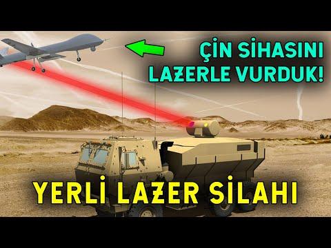 Dünya Savaş Tarihinde İlk! Türkiye'den Lazer Silahı!