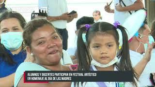 Jornada conmemorativa por el Día de las Madres llega a escuelas de Managua - Nicaragua