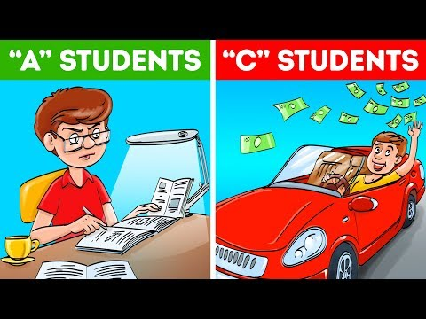 """Why """"C"""" Students Are More Successful Than """"A"""" Students"""
