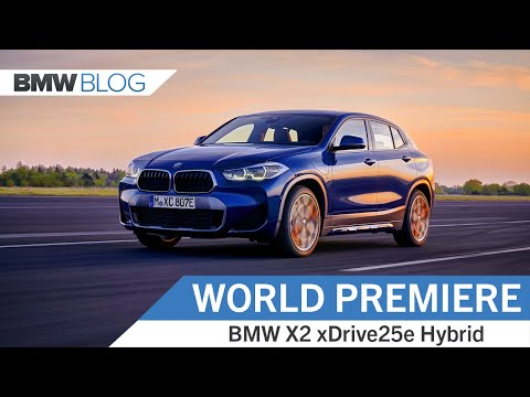 BMW's Smallest Hybrid – The New X2 xDrive25e