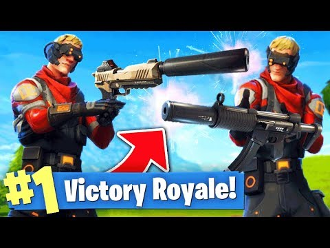 connectYoutube - The SILENCER ONLY Challenge! (Fortnite Battle Royale)
