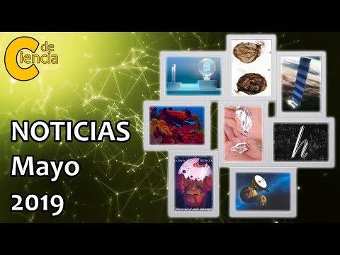 Noticias científicas mayo 2019