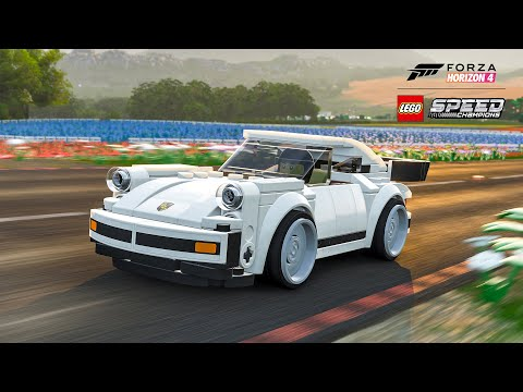 Create and race your own LEGO Porsche 911 Turbo in Forza Horizon 4
