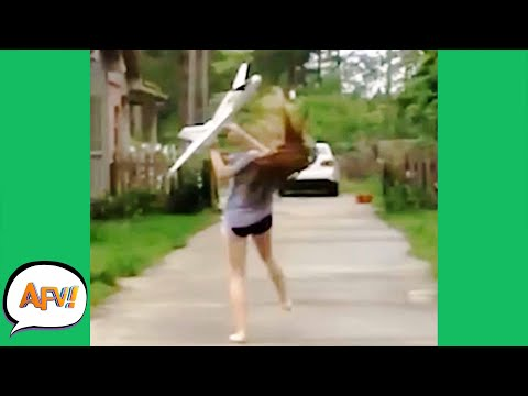 It Went STRAIGHT for the FACE! 😂 | Fails of the Week | AFV 2020