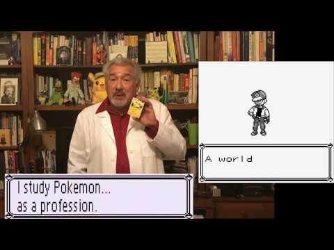 Professor Oak IN REAL LIFE!