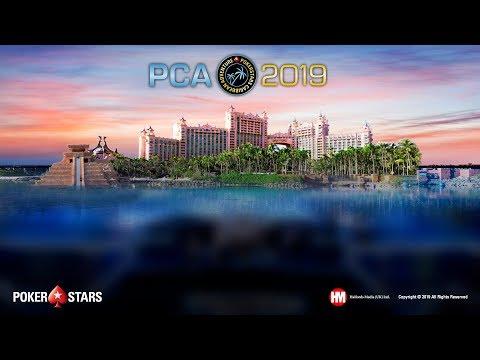 PCA Main Event, table finale (cartes visibles)