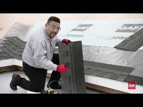 Cómo instalar las tejas Timberline HDZ de GAF