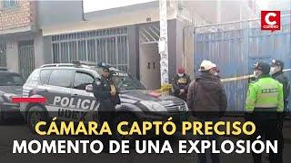 Huancayo: detonan explosivo en puerta de vivienda de funcionario regional