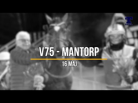 V75 tips Mantorp 16/5 - Tre S