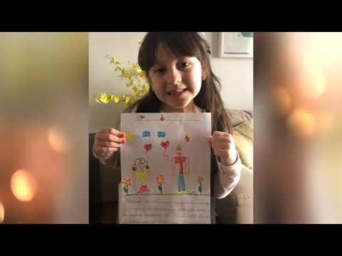Homenagem ao Dia dos Pais - 1º Ano A - Profª. Luciana
