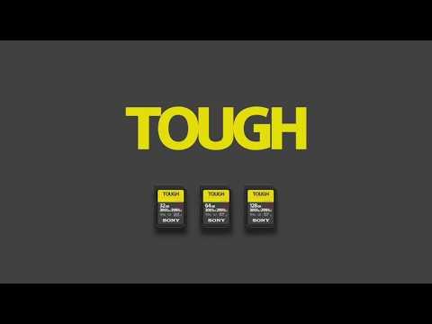Сверхпрочные карты памяти Sony SF-G TOUGH