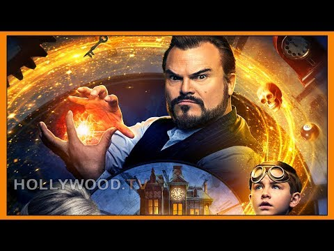 """Jack Black talks """"saving the world"""" - new movie """"The House with a Clock in Its Walls"""" - Hollywood TV"""