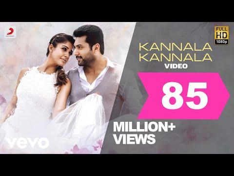 Kannala Kannala Video Song With Lyrics, Thani Oruvan Movie Song