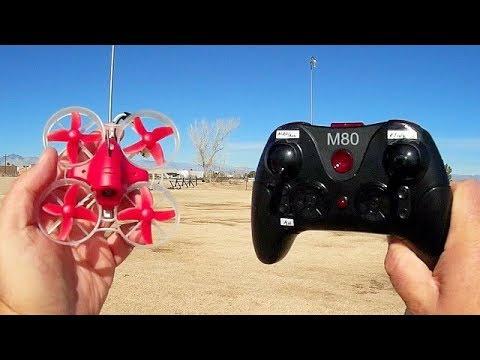 Eachine M80S RTF Micro FPV Acro Trainer Flight Test Review