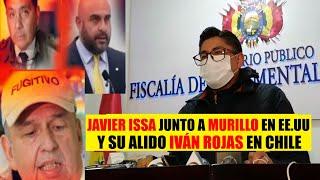Bolivia | Fiscalía confirma que Exdirector de la FELCC Iván Rojas se encuentra en CHILE