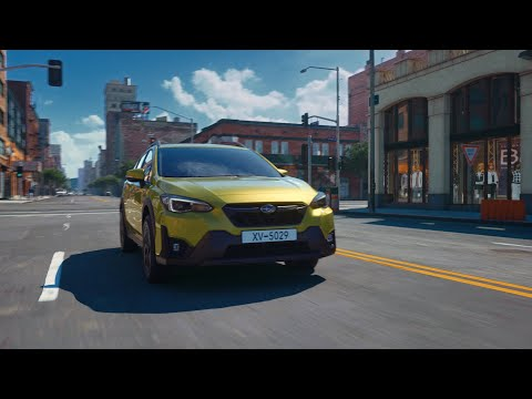 "2021MY SUBARU XV Promotional Video ""Urban Playground"" (60 sec.)"