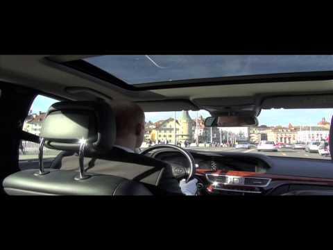 Beispiel: Limousinenservice S 400 L Hybrid, Video: Krystal Limousines.