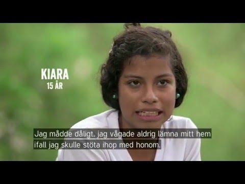 Kiara och Camilo blev bästa vänner genom fredsgruppen