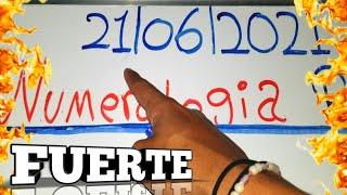 LOS NÚMEROS PARA HOY 21/06/21 DE JUNIO..! NUMEROLOGIA RD