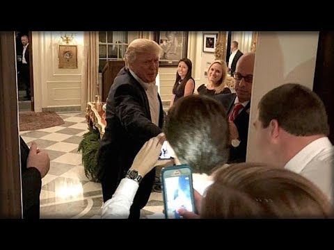 LAST NIGHT PRESIDENT TRUMP SNUCK INTO A WEDDING TO SURPRISE COUPLE WITH BEST GIFT OF ALL