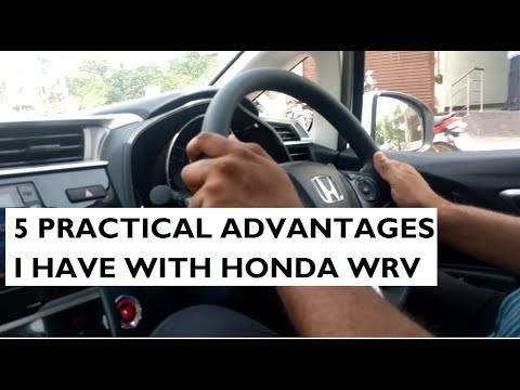 5 Practical Advantages I Have With My Honda WRV