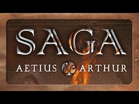 Teaser: SAGA - Aetius & Arthur (Tabletop-Spiel, TWS)