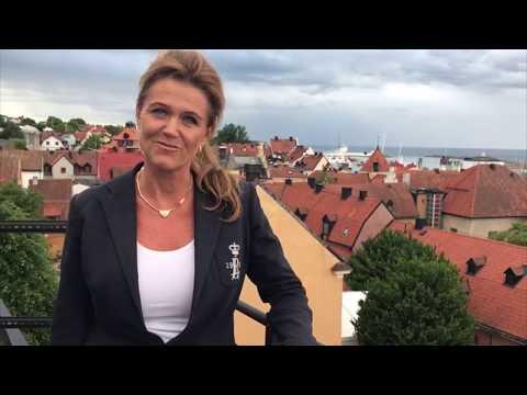 Mona Örjansdotter Johansson tackar för en givande Almedalsvecka.