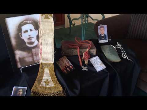Relics of San Pedro de Jesus Maldonado