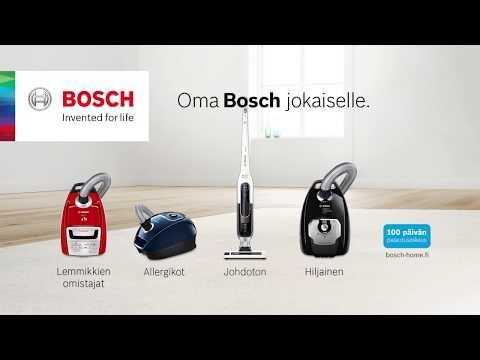 Oma Bosch jokaiselle.