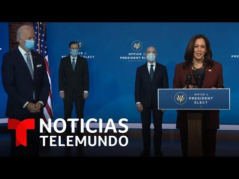 Biden presenta a los primeros miembros de su Gobierno