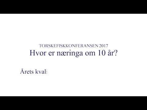 Framtida til fiskerinæringa - Finn-Tore Frantzen