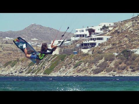 Kitesurfing with Gisela Pulido