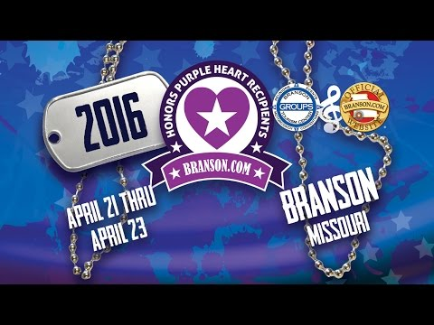 Branson.com Honors Purple Heart Recipients 2016 (Full Documentary)
