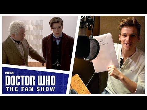 Jake Dudman Voices The Tenth Doctor – Doctor Who: The Fan Show