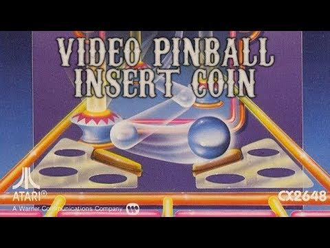Video Pinball (1980) - Atari 2600 - Análisis Comentado