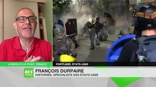 Rassemblements Black Lives Matter : «La réponse fédérale est inappropriée», selon François Durpaire