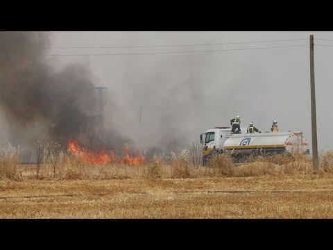 الحرائق تلتهم آلاف الهكتارات في الحسكة وقسد ترفض دخول الخوذ البيضاء - هنا سوريا